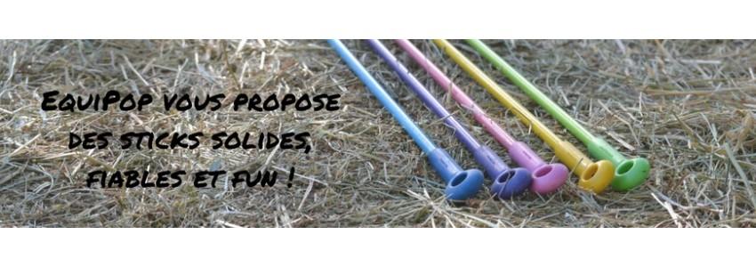 Sticks éthologiques EquiPop